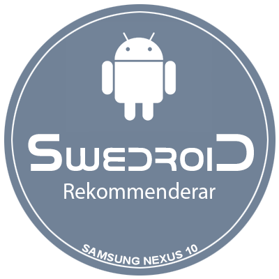 swedroid-badge-rekommenderar-N10