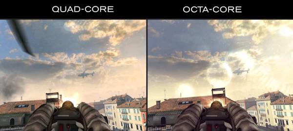 Gameloft vill visa skillnaden mellan fyrkärnigt och åttakärnigt