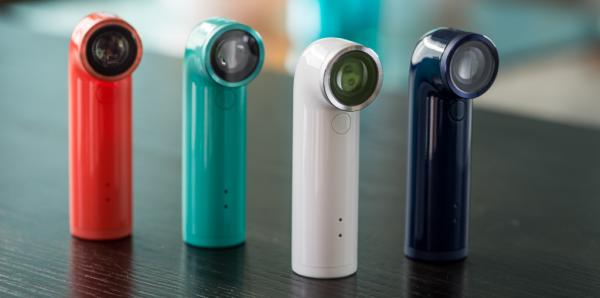 Här är HTCs lilla sportkamera Re