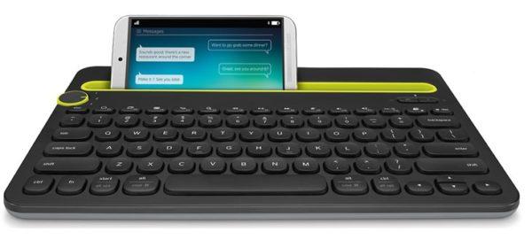 Vi testar Logitech K480 – ett mångsidigt tangenbord för surfplattor såväl som telefoner