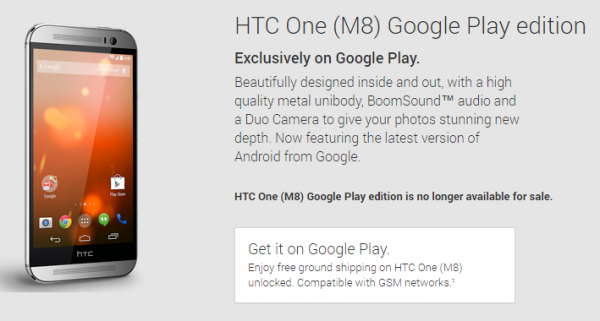 HTC One M8 GPE får Android 6.0 Marshmallow