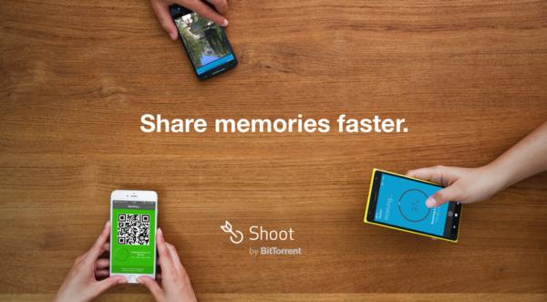 Shoot från BitTorrent – filöverföring mellan mobilplattformar