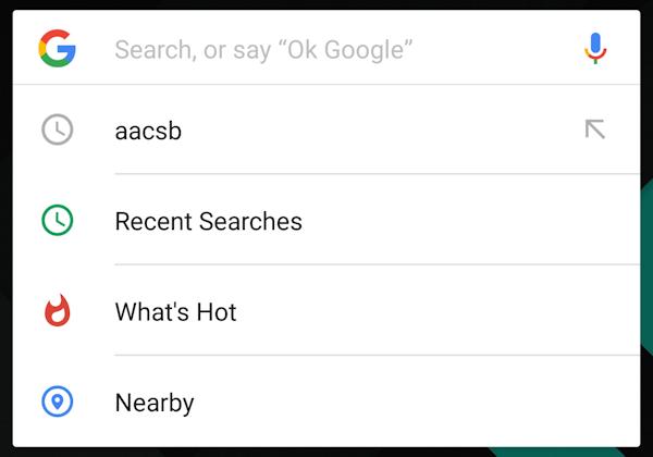 Google testar nytt gränssnitt för sökfältet