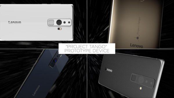 Lenovo tillverkar första kommersiella Project Tango-telefonen