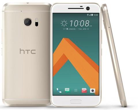 HTC:s flaggskepp 10 i fyra färger