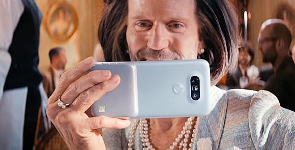 Jason Statham är överallt i LG:s nya reklam för G5