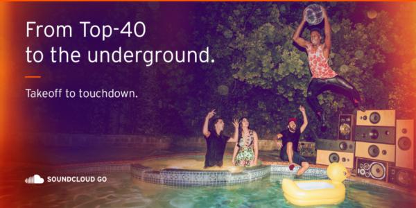SoundCloud Go är senaste prenumerationstjänsten för musik