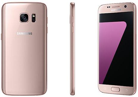 Samsung tillkännager rosa modell av Galaxy S7