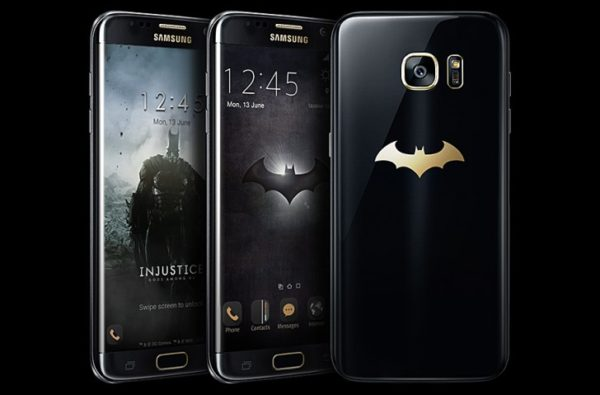 Samsung tillkännager Batman-version av Galaxy S7 Edge