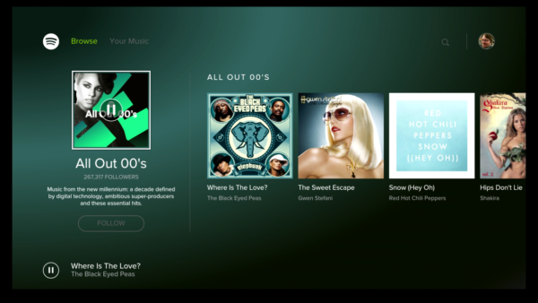 Spotify får Android TV-stöd