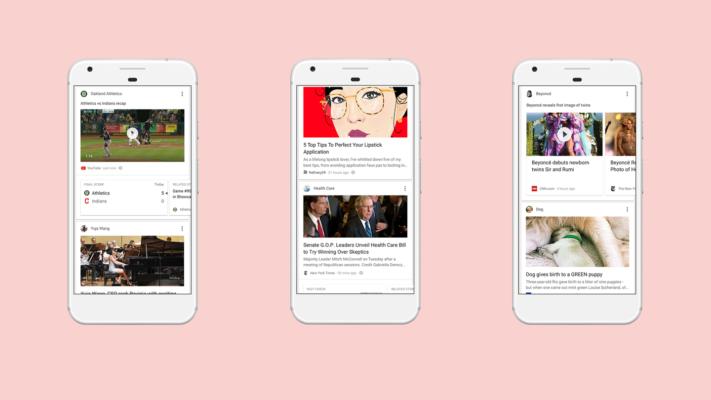 Flödet i Google-appen blir smartare med hjälp av A.I.