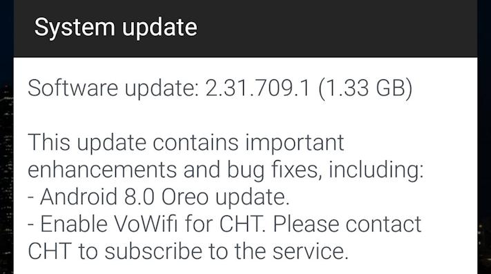 HTC U11 uppdateras till Oreo i Taiwan