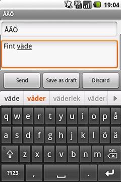 Swedish Keyboard + Swedish Dictionary