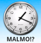Androidklockan - Står det verkligen Malmö?