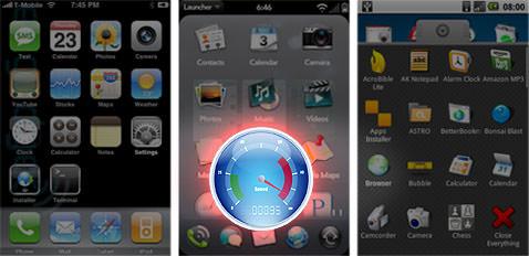 iPhone, webOS och Android - Bling kontra prestanda