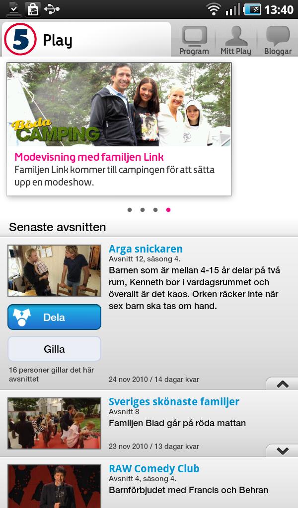 kanal 5 play