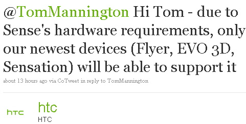 Nuvarande HTC-enheter kommer inte att uppgraderas till Sense 3.0 [Rykten]