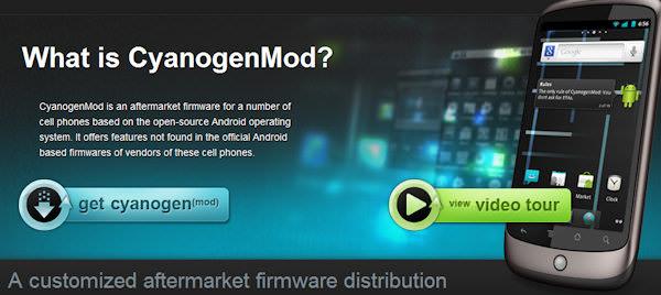 Gingerbread-baserade ROM:en CyanogenMod 7 släpps i skarp version