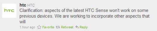 Sense 3.0 till nuvarande HTC-enheter