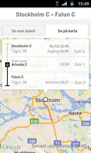 SJ släpper androidapp för att underlätta för resenärer [Notis]