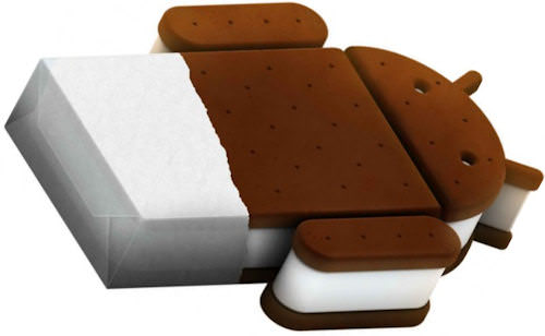 Ice Cream Sandwich, ICS, logo smaller