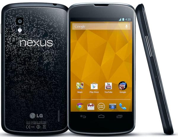 LG Nexus 4 promobild