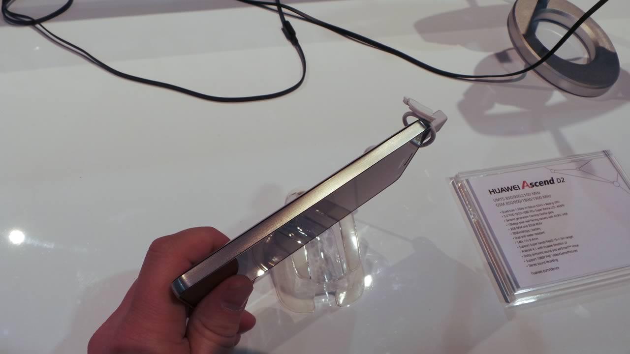 Första titt på Huawei Ascend Mate och Huawei Ascend D2 ...