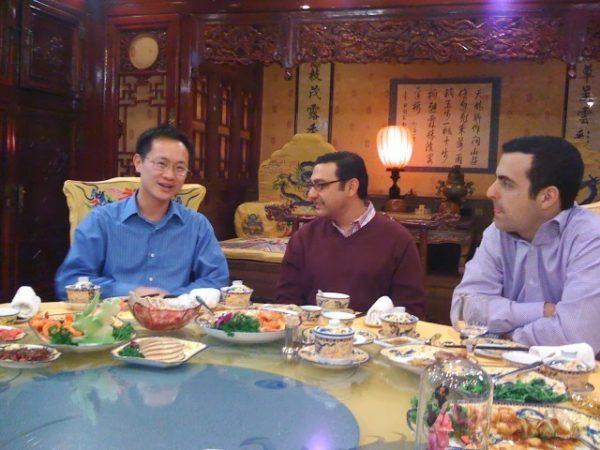 Bin Lin, Vic Gundotra och Hugo Barra