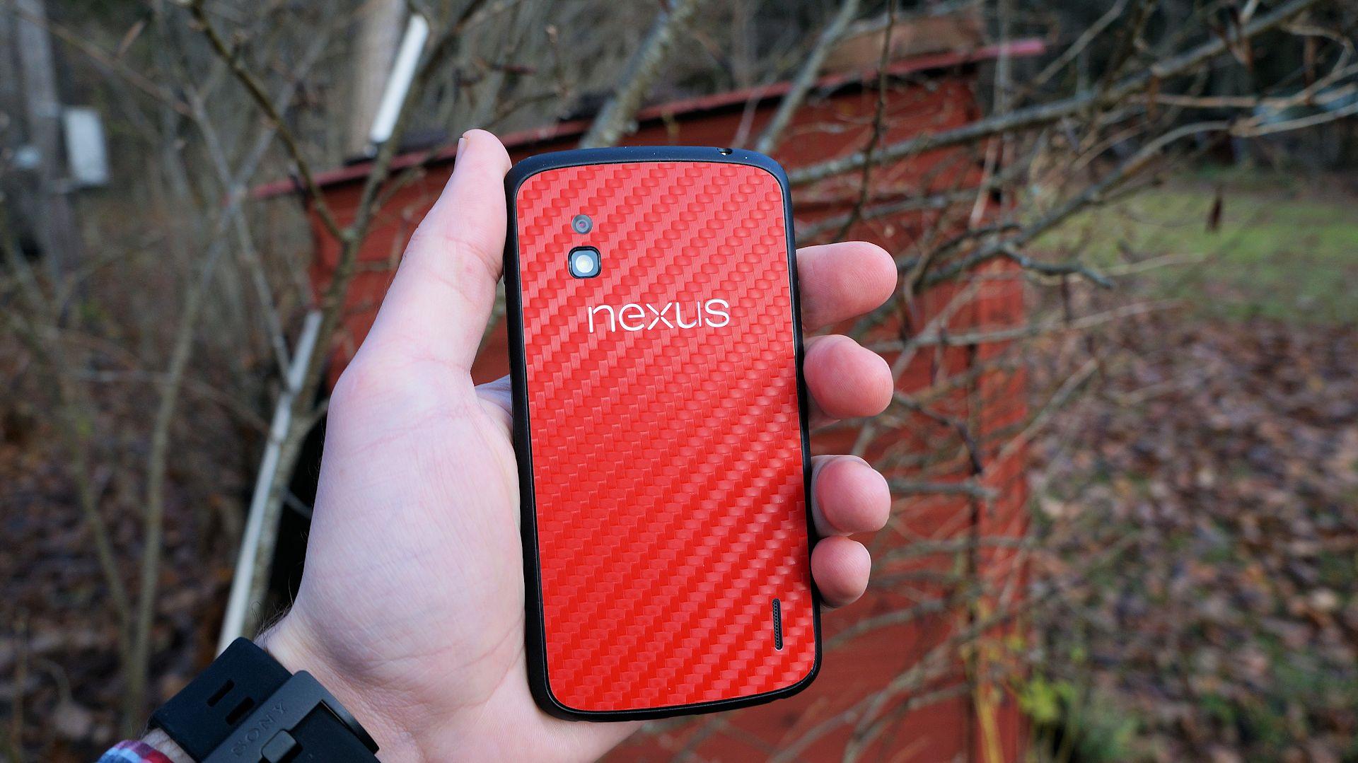 En titt på Dbrands skin för LG Nexus 4 - Swedroid