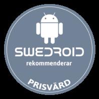 1.SWEDROID-REKOMMENDERAR-PRISVÄRD