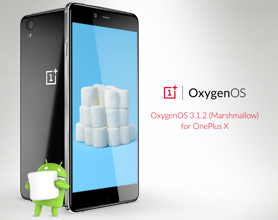 Android 6.0 Marshmallow Ready for OnePlus X