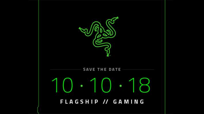 Razer Phone 2 presenteras 10 oktober