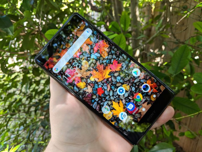 Test av Sony Xperia XZ2 Premium