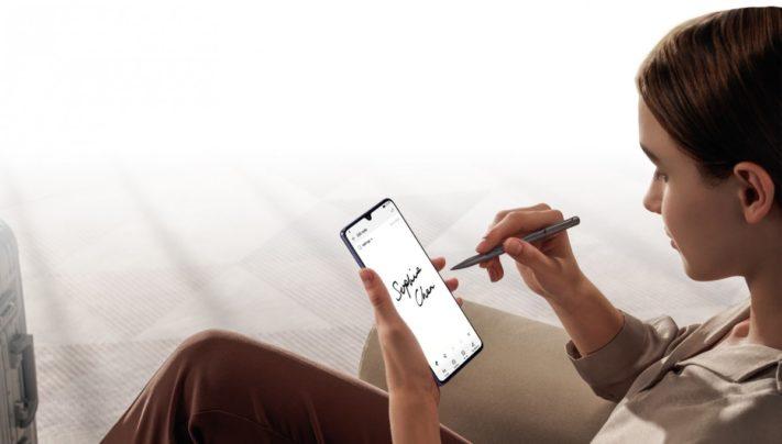 Enorma mobilen Huawei Mate 20 X har 7,2-tumsskärm och 5000mAh