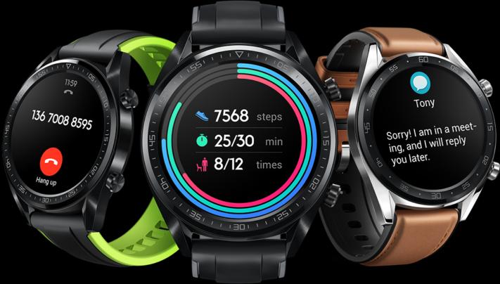 Högupplösta smartklockan Huawei Watch GT kan hålla igång i en månad