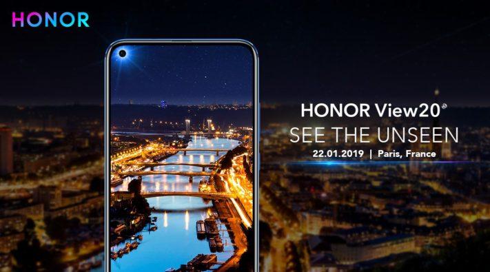 Huawei visar upp Honor View 20 med 48MP-kamera och vänsterjusterad kamera-ö