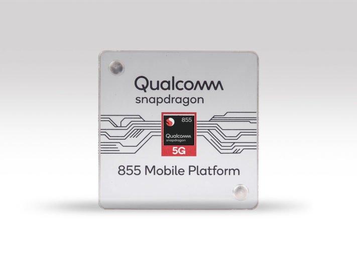 Qualcomm ger en första glimt av Snapdragon 855 och presenterar ultraljudbaserad fingeravtrycksläsare