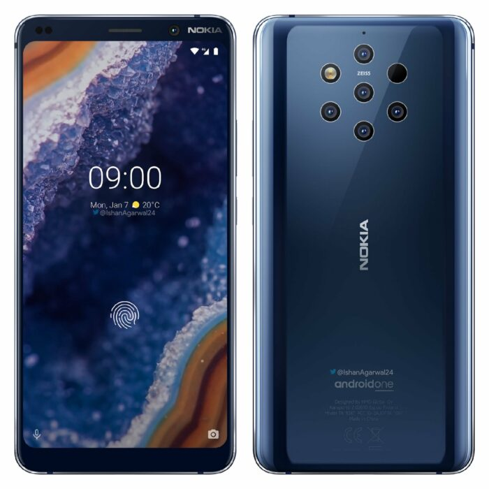 Nokia 9 PureView får Android 10