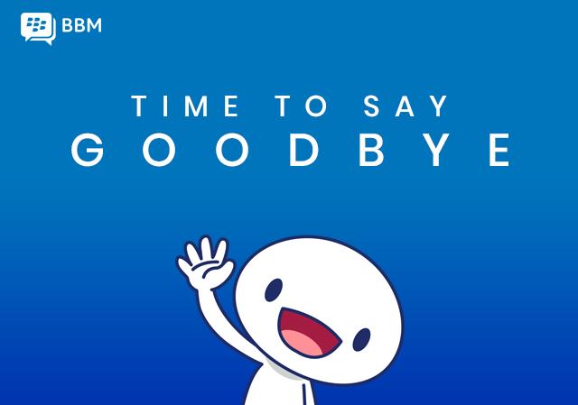 BlackBerry Messenger läggs ned 31 maj