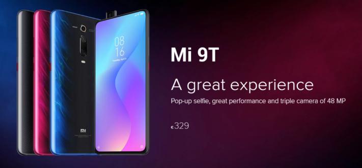 Redmi K20 döps om till Xiaomi Mi 9T och släpps i Europa