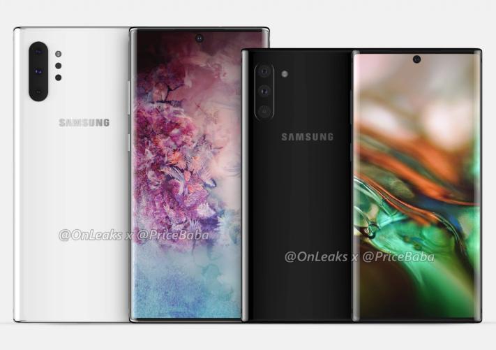 Samsung Galaxy Note 10 introduceras 7 augusti enligt rykte