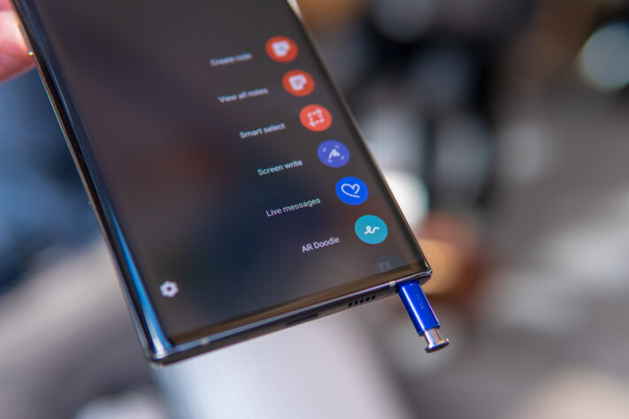 Galaxy Note 10: S-pen actions