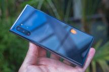 Galaxy Note 10+: Aurora-svart, bakstycke