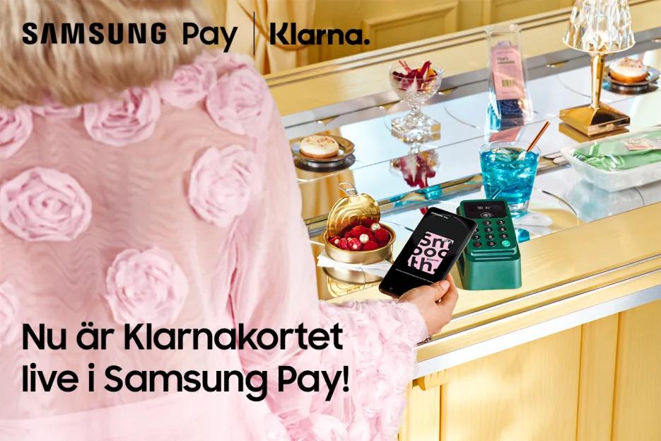 Samsung Pay reçoit une assistance pour des cartes supplémentaires en Suède