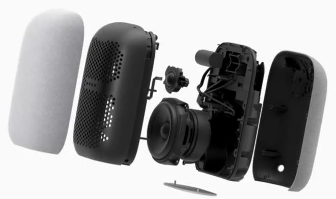 Google Nest Audio, konstruktion