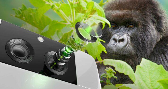 Corning tillkännager Gorilla Glass för mobilkameror